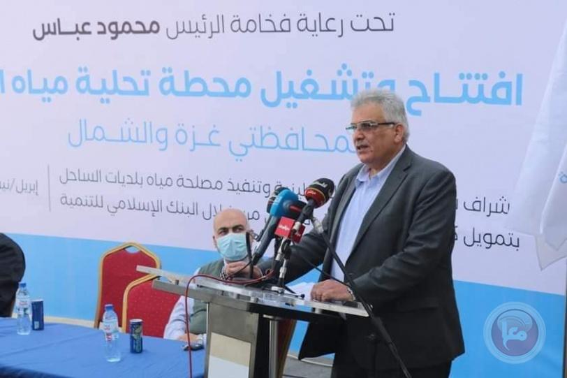 سلطة المياه: نسير بخطوات ثابتة نحو تحقيق الأمن المائي في قطاع غزة