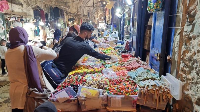 """نجاح مميز لليوم الأول لمهرجان القدس للتسوق """" يلا على البلد"""""""