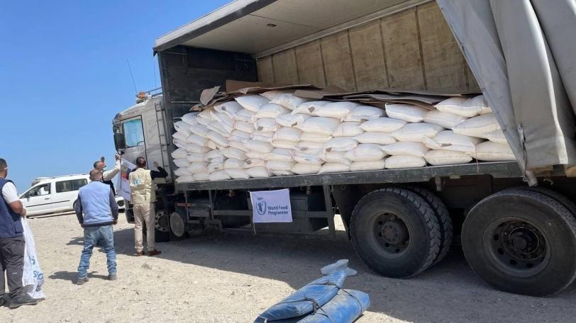 توزيع مساعدات غذائية روسية في الضفة وغزة