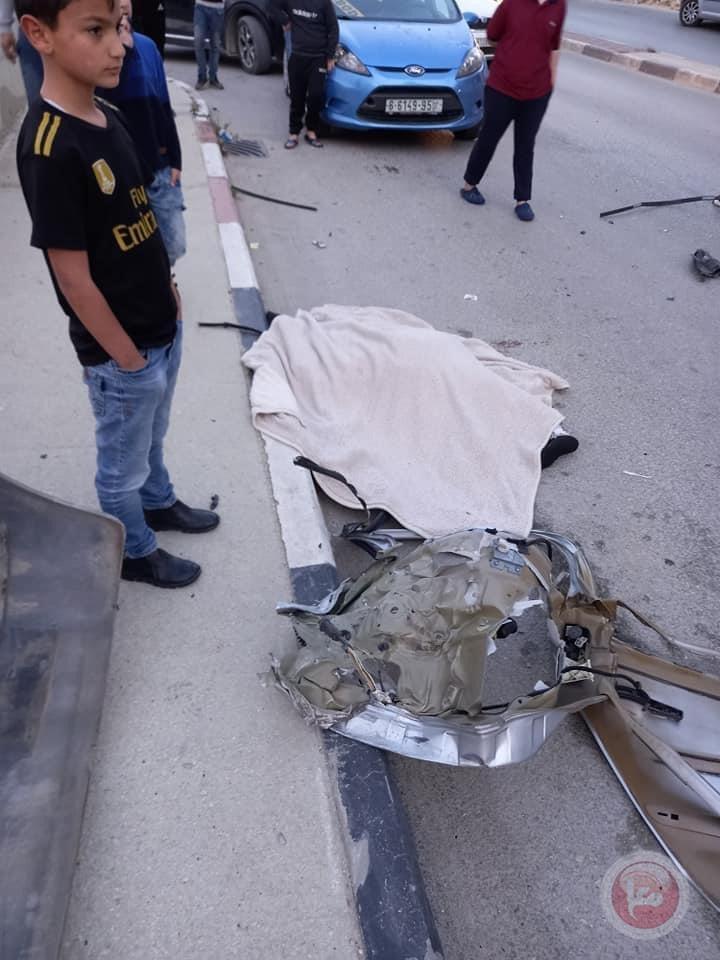 مصرع شقيقتين واصابة 3 آخرين في حادث سير قرب دورا