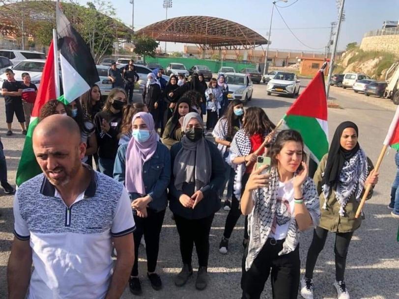 وادي عارة تتظاهر تضامنا مع القدس