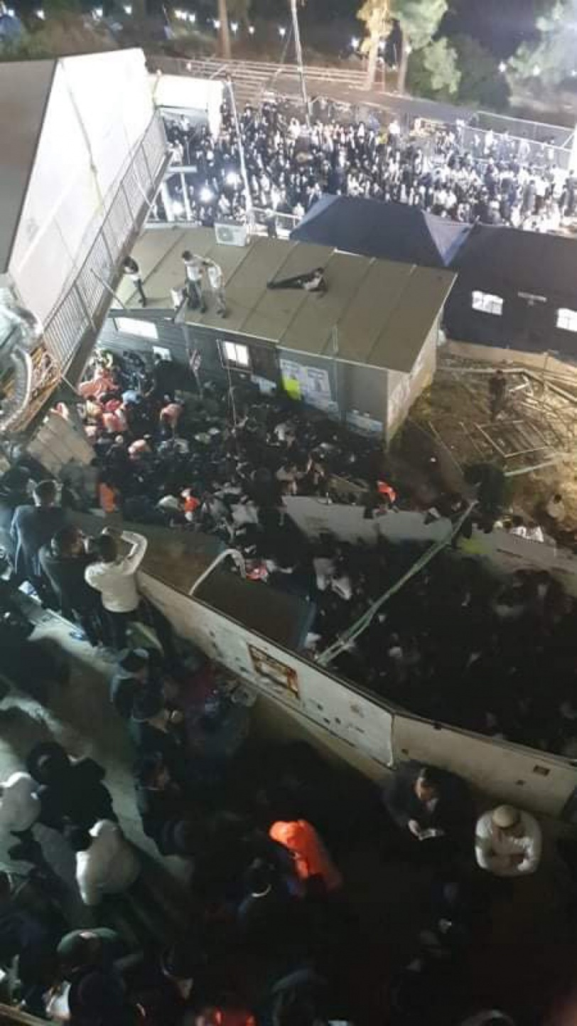عشرات القتلى والجرحى الاسرائيليين  في انهيار منصة  بجبل الجرمق
