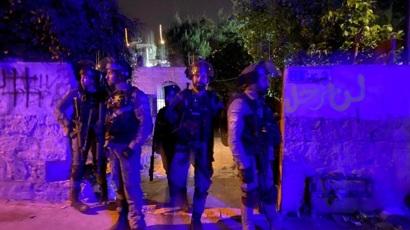 صور - اصابات واعتقالات في الشيخ جراح