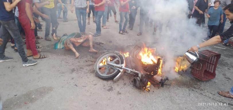 بينهم 3 أطفال.. 9 شهداء جراء قصف درّاجة في بيت حانون