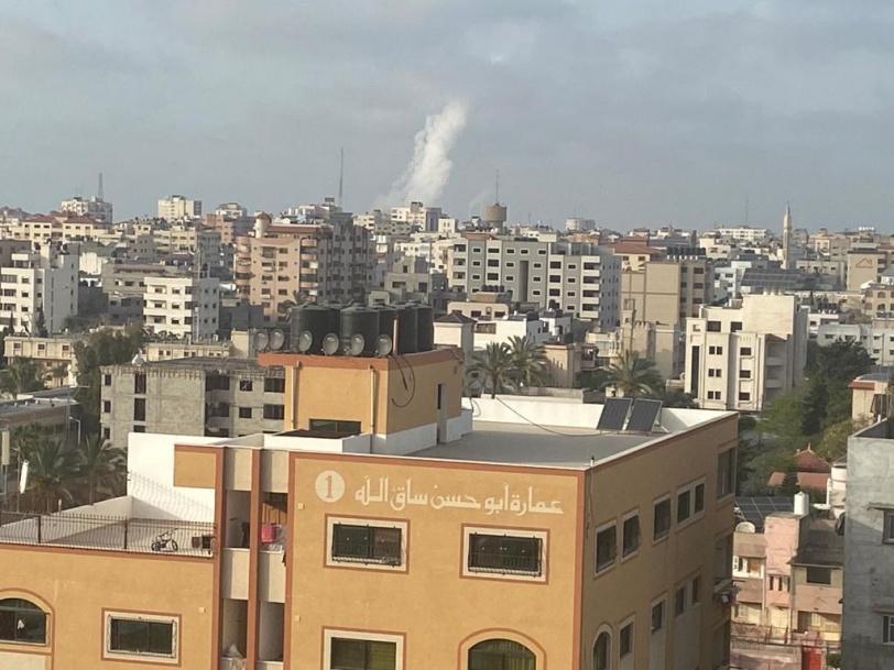 """""""المقاومة"""" تقصف القدس.. عسقلان ومستوطنات غزة"""