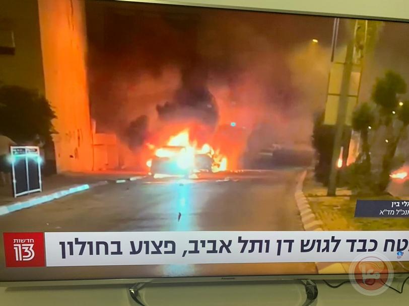ردا على قصف الأبراج.. المقاومة تقصف تل أبيب وتوقع قتيلا وإصابات
