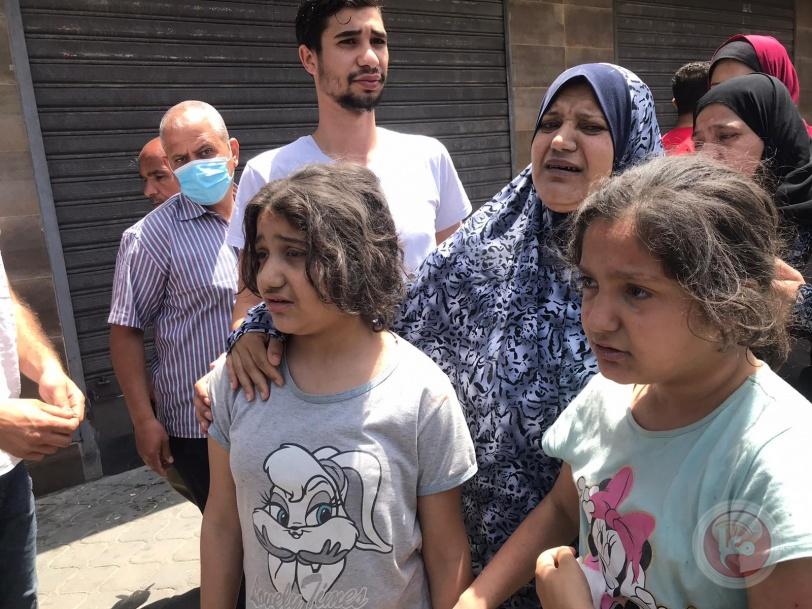 فيديو- اغتيال ثلاثة من سرايا القدس في قصف منزل غرب غزة