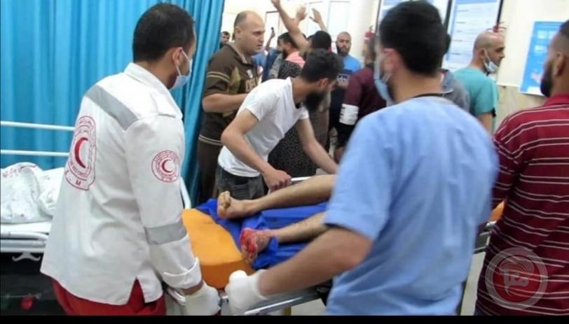 الهلال الأحمر الفلسطيني يرفع درجة الجهوزية للدرجة الرابعة بغزة