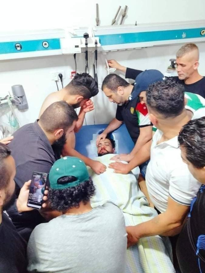 منع الإسعاف من نقله للمستشفى- شهيد خلال اقتحام مخيم الفوار