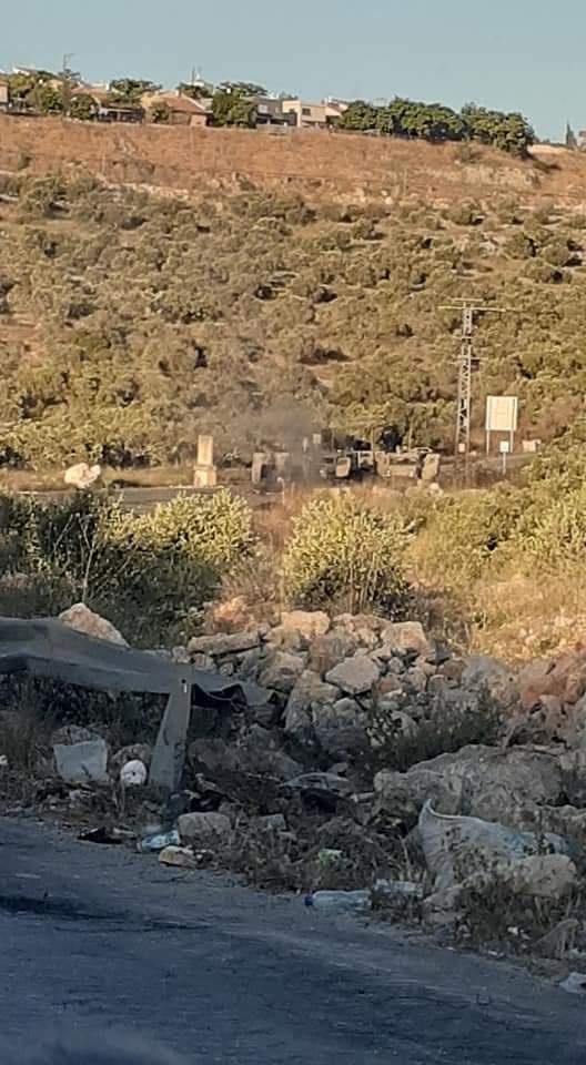 اصابة بالرصاص والعشرات بالاختناق في المواجهات في ديراستيا