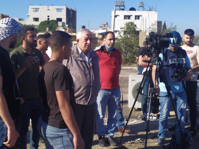 عشرات الاصابات برصاص قوات الاحتلال شمال الضفة