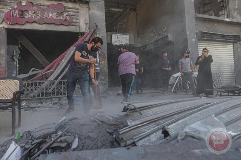 بلدية غزة تطلق حملة حنعمرها لتنظيف مدينة غزة