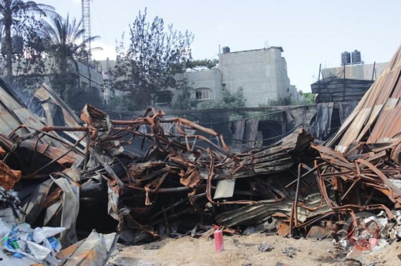 الزراعة بغزة تحذر من كارثة بيئية شمال القطاع