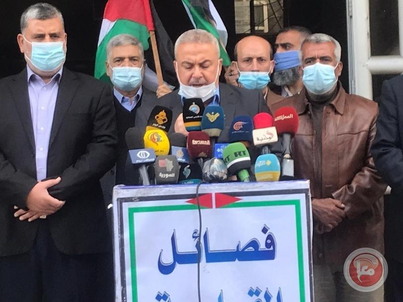 فصائل المقاومة تحذر الاحتلال من المساس بالقدس وأهلها