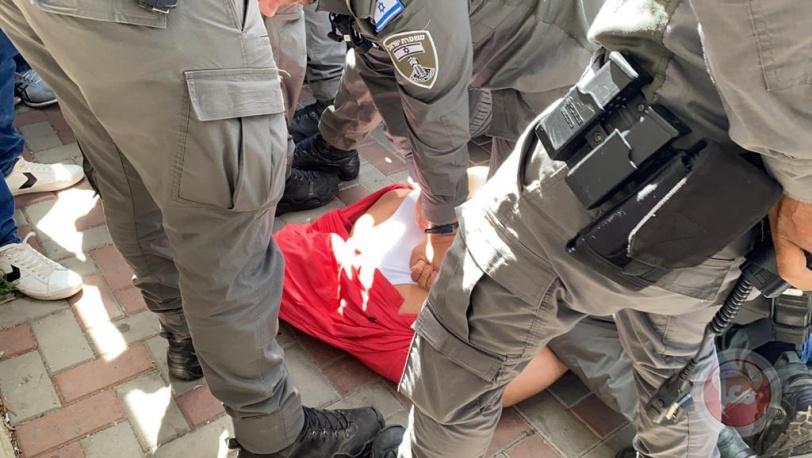 قمع واعتقال ووقفة احتجاجية - المحكمة تؤجل البت بتهجير عائلتين من سلوان
