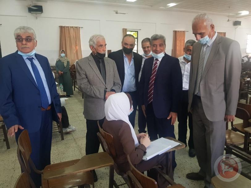 انطلاق امتحانات الثانوية الأزهرية العامة في المعاهد الأزهرية في قطاع غزة