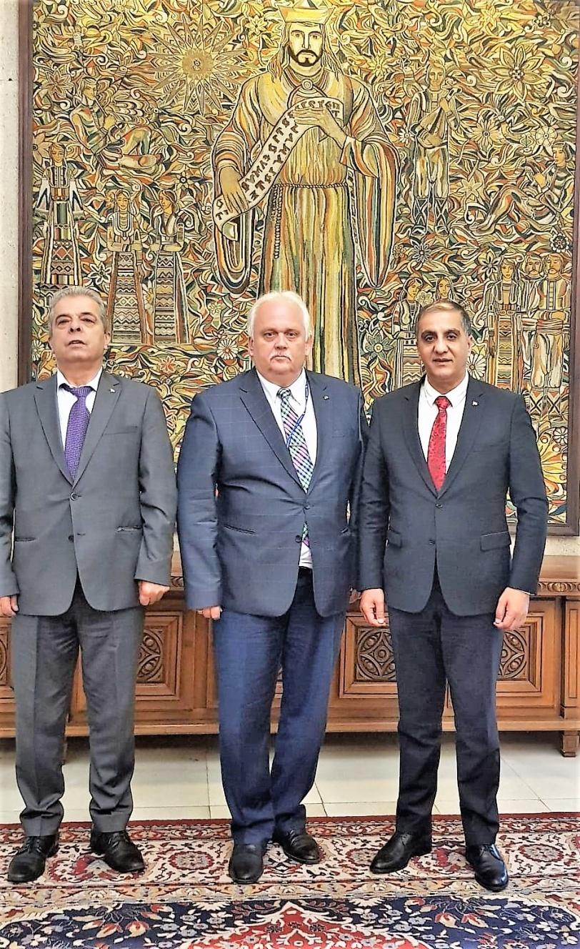مسؤولون في الخارجية البلغارية يؤكدون وقوفهم بجانب فلسطين للتخلص من الاحتلال