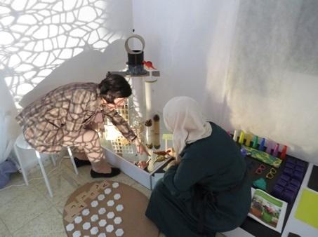 مركز بيت لحم التعلمي الإبداعي لإعادة استخدام مخلفات البيئة (BECRC) يفتح أبوابه لمشرفي الوزارة