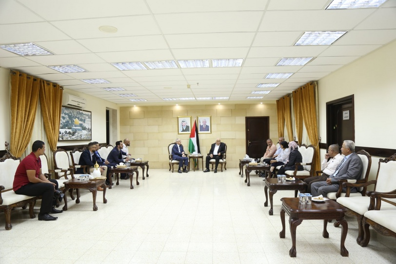 اجتماع فلسطيني تركي يبحث تعزيز التبادل التجاري الزراعي