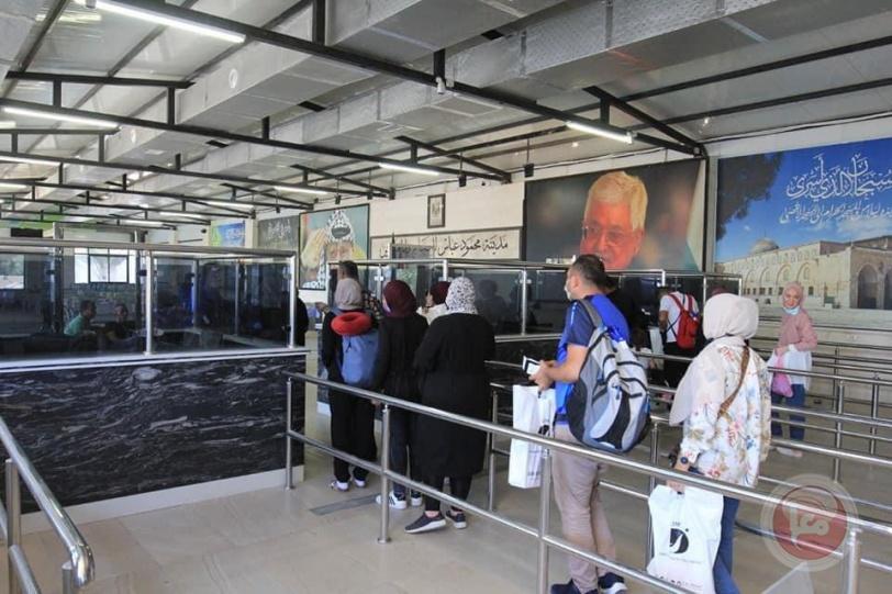 بدء استقبال المسافرين القادمين في مدينة محمود عباس للحجاج والمعتمرين