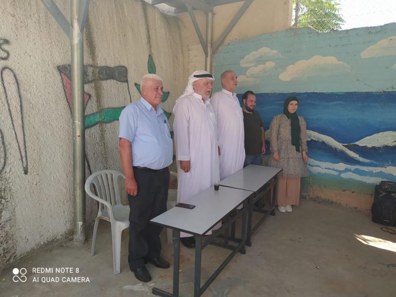 تخريج مخيم الحرية في البلدة القديمة بالخليل