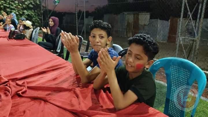 مؤسسة أيز أرك - كاليفورنيا- تنفذ يوما ترفيها لأطفال غزة