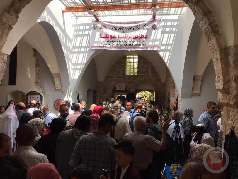 معرض للتراث في أحد أقدم بيوت غزة