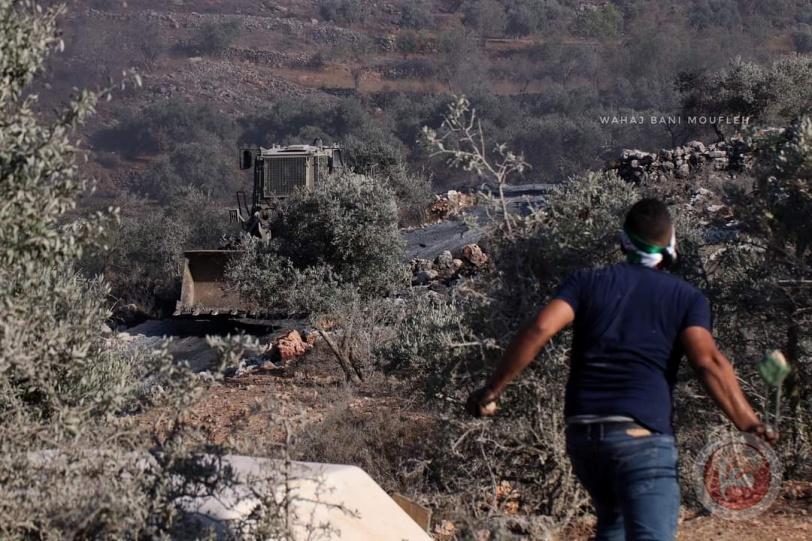 الهلال الأحمر : 49 اصابة خلال مواجهات جبل صبيح مع الاحتلال