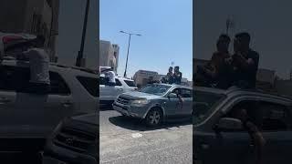 فيديو وصور- جانب من احتفال مدينة بيت لحم بنتائج التوجيهي