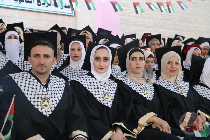 """القدس المفتوحة بالخليل تحتفل بتخريج الفوجين الثالث والعشرين والرابع والعشرين """"فوج الأغـوار"""
