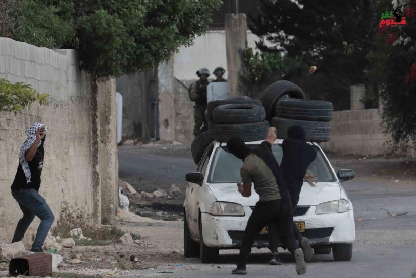 3 إصابات برصاص الاحتلال خلال قمع جيش الاحتلال لمسيرة كفر قدوم