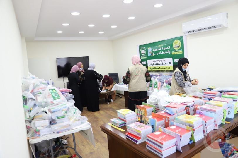 تمكينا لعودتهم للمدارس: الإغاثة 48 توفر الحقيبة والقرطاسية لأكثر من 10 آلاف طالب