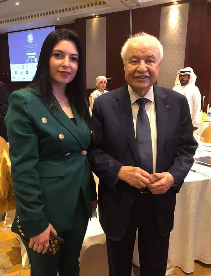 رندة القدومي.. شابة فلسطينية منحت لقب سفير السلام والنوايا الحسنة
