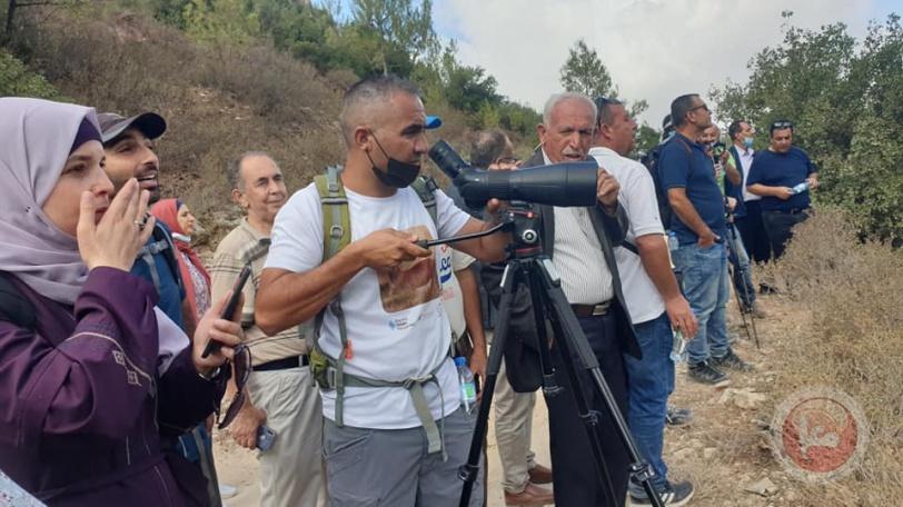"""""""محميات فلسطين """": السياحة الداخلية المدخل الرئيسي لتحقيق النمو الشامل"""