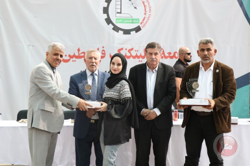بوليتكنك فلسطين تحتفل بتكريم الطلبة المُتفوقين للعالم الأكاديمي 2020-2021