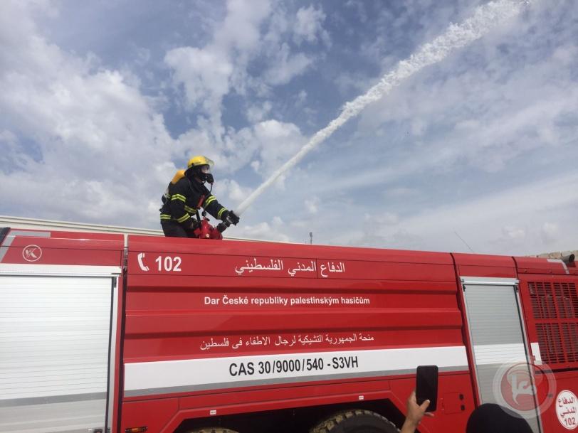 بيت لحم: الدفاع المدني ينفذ مناورات بمناسبة اليوم الدولي للحد من الكوارث