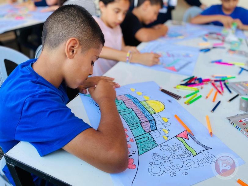 ورشة (لوّن القدس) تشارك في أسبوع العاصمة الثقافي في بيت لحم