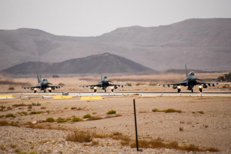 اسرائيل تطلق التمرين الجوي الدولي الاحد
