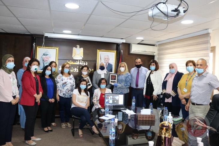 حمد تلتقي الفريق الوطني للتدقيق التشاركي من منظور النوع الاجتماعي