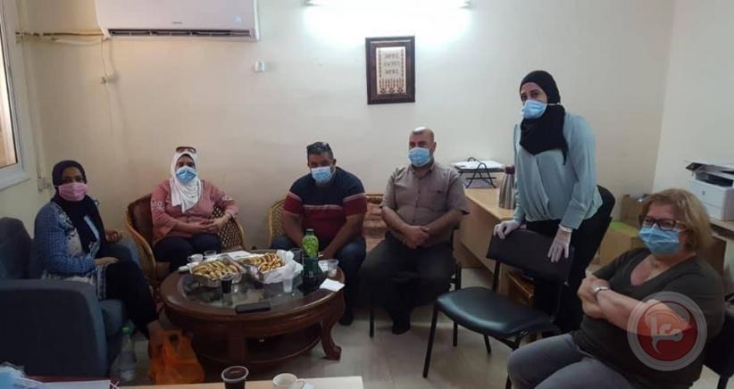تنمية أريحا تشارك ببحث خطة حماية المرأة مع فرق الحماية