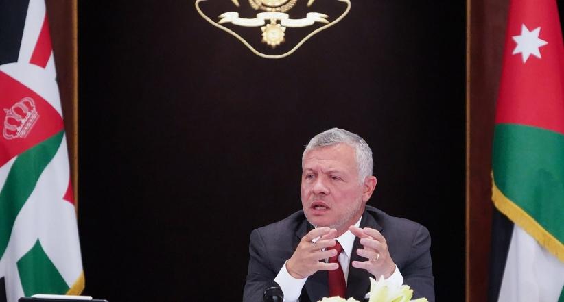 ملك الاردن: موقفنا ثابت وواضح تجاه القضية الفلسطينية