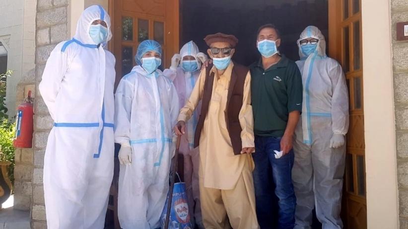 باكستاني بعمر 103 أعوام يتعافى من كورونا
