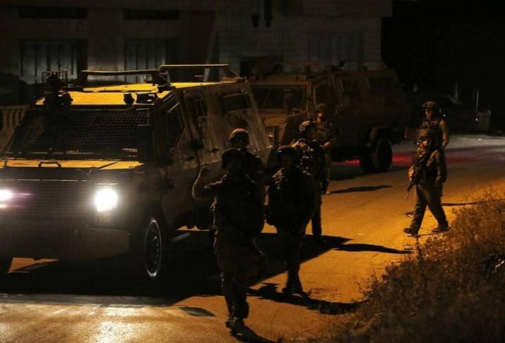 الاحتلال يعتقل شابا من بلدة جبع جنوب جنين