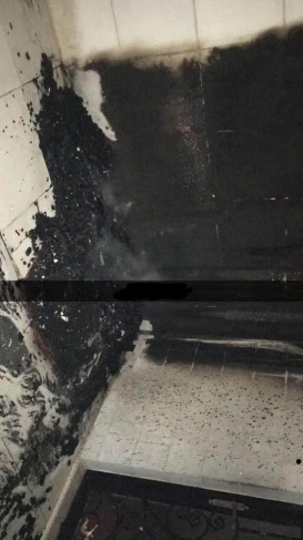 المفتي العام يدين حرق المسجد في البيرة
