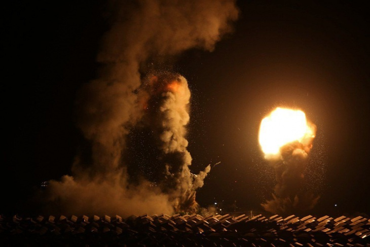 غارات اسرائيلية على جنوب قطاع غزة