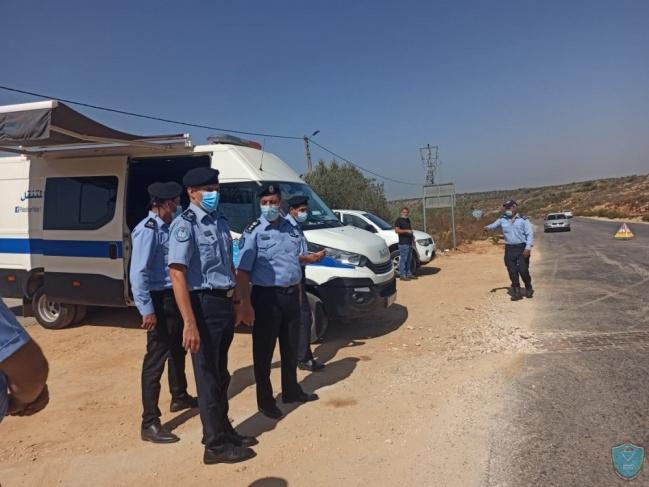 الشرطة تقبض على مطلوبين  للعدالة وتضبط مركبات غير قانونية