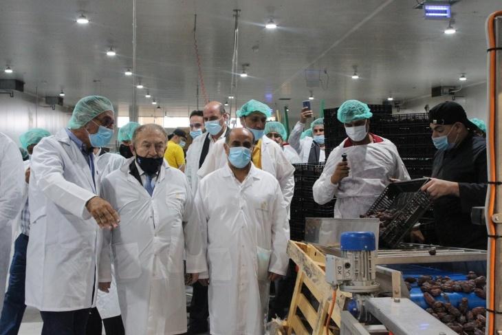 """افتتاح مصنع """"حصاد"""" للتمور بطاقة 2200 طن سنويا في الأغوار"""