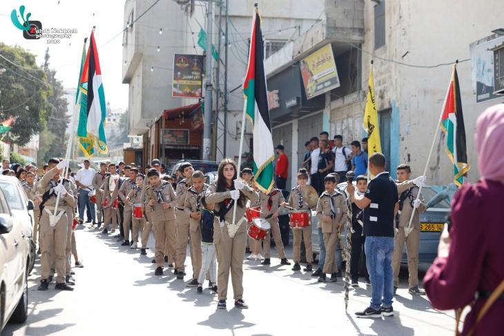 """""""شباب الجلزون"""" يستضيف فعاليات اليوم الوطني الفلسطيني للعمل التطوعي"""