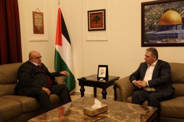 """السفير دبور يبحث مع أمين الهيئة القيادية لحركة """"المرابطون"""" آخر التطورات"""