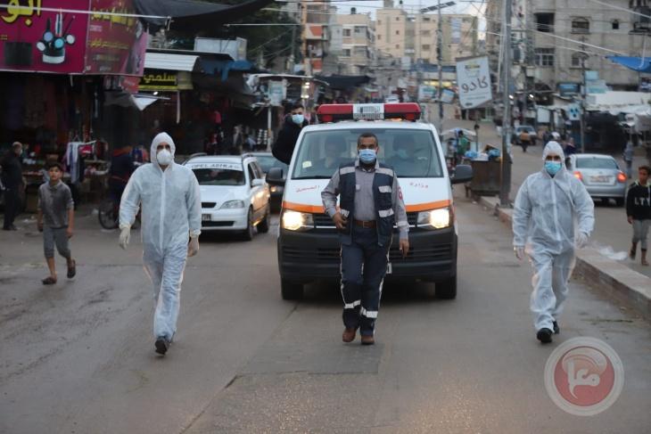 لا وفيات- 39 إصابة جديدة بفيروس كورونا في غزة
